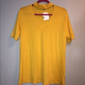 Tops - NWT Mustard yellow top